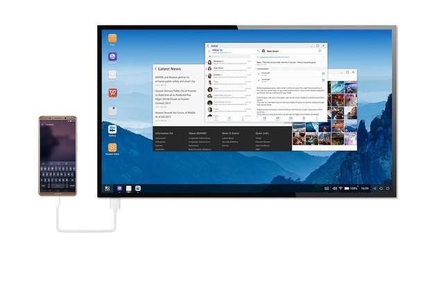 Vyzkoušeli jsme si desktopový režim na Huawei Mate 10 Pro