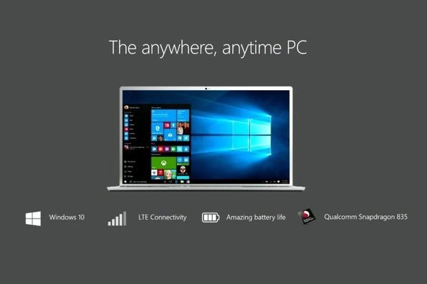 První notebooky s Windows 10 a ARM procesory slibují až 22hodinovou výdrž