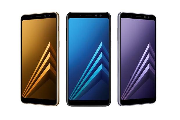 Samsung Galaxy A8 je tady: má Infinity displej i přední duální fotoaparát