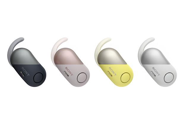 Sony představilo sportovní sluchátka WF-SP700N s potlačením okolního ruchu