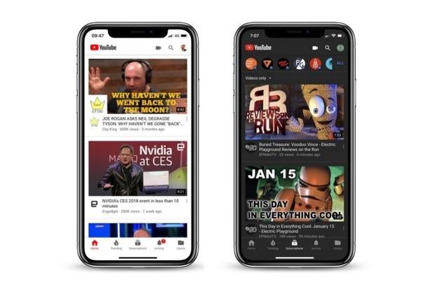 YouTube pro iOS dostalo tmavý režim, Android verze bude následovat