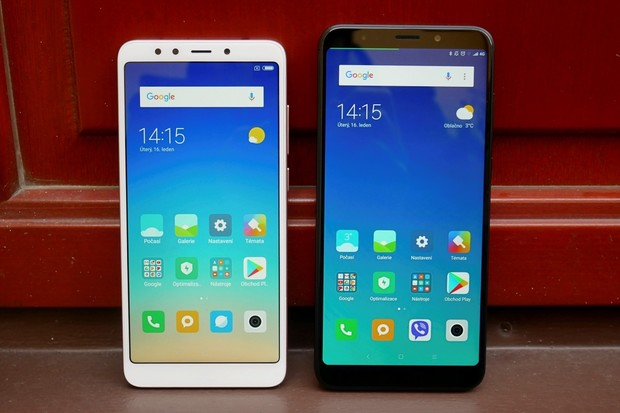 Naše první dojmy a fotogalerie Xiaomi Redmi 5 a Redmi 5 Plus