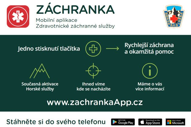 Aplikace Záchranka přinese přenos obrazu z místa nehody a rozšíří se do Maďarska