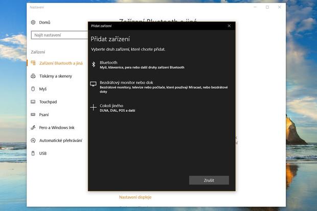 Také Windows 10 dostanou brzy snadnější Bluetooth párování