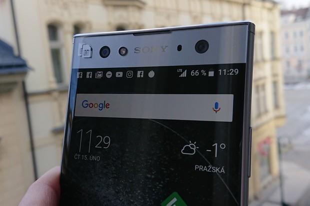Čtvrtkilová Xperia XA2 Ultra  od Sony v redakci: první dojmy z obří novinky