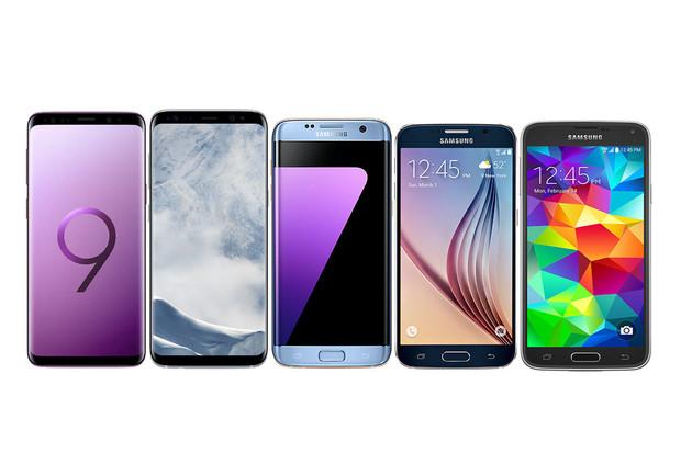 Samsungy Galaxy S9 a S9+ vs. jejich předchůdci