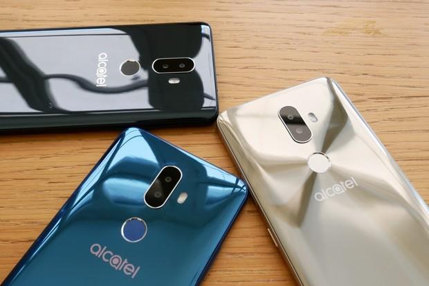 Alcately 3 a 3V jsou obří novinky s Androidem Oreo