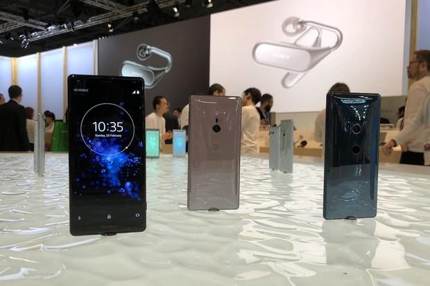 Prohlídka stánku Sony na MWC 2018: v hlavní roli Xperia XZ2 a XZ2 Compact