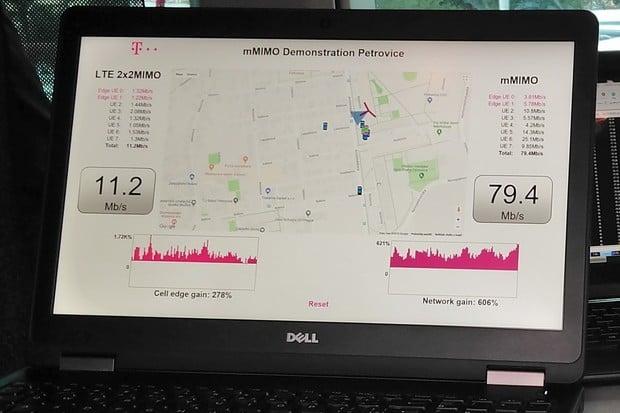 T-Mobile testoval technologie pro 5G v pražských Petrovicích