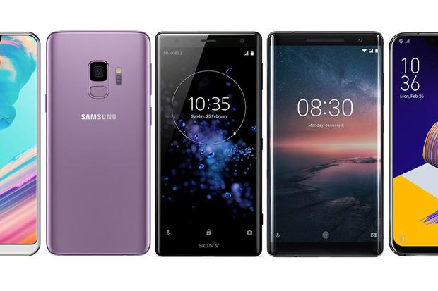 Jaké jsou ty vůbec nejlepší telefony letošního MWC? Podívejte se na našich TOP 5
