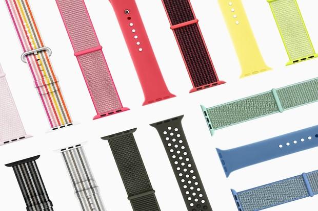 Apple představil jarní kolekci pásků pro Apple Watch