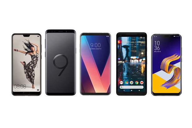 Huawei P20 Pro proti Galaxy S9+, LG V30, Pixel 2 XL a ZenFonu 5Z