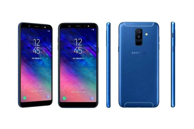Samsungy Galaxy A6 a A6+: známe jejich vzhled i výbavu