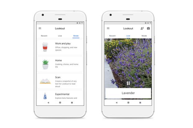 Google ulehčí život slepcům novou aplikací Lookout, která má nahradit jejich oči