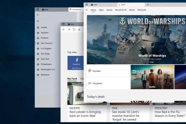 Microsoft představuje další změny Fluent Designu pro Windows 10