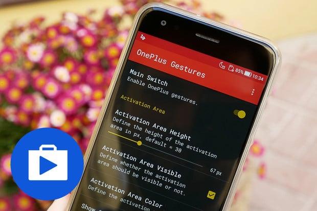 Pomocí aplikace OnePlus Gestures můžete i svůj telefon ovládat gesty