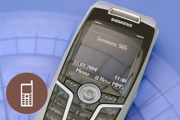 Retro: Siemens S65 – německý manažer s paměťovkou