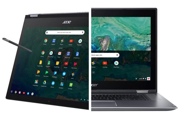 Záplava Chromebooků od Aceru: dvě velikosti, dva typy konstrukce