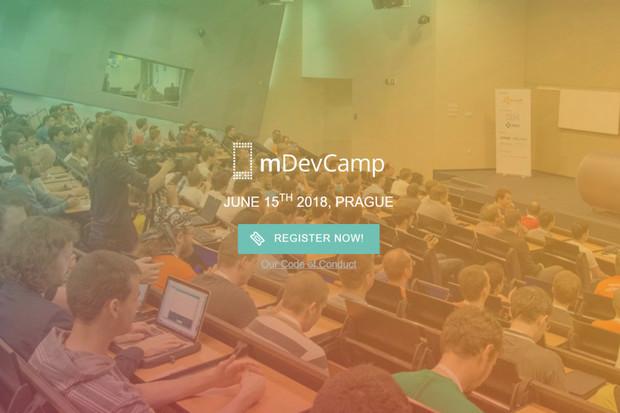 Konference pro mobilní nadšence mDevCamp se vrací do Prahy