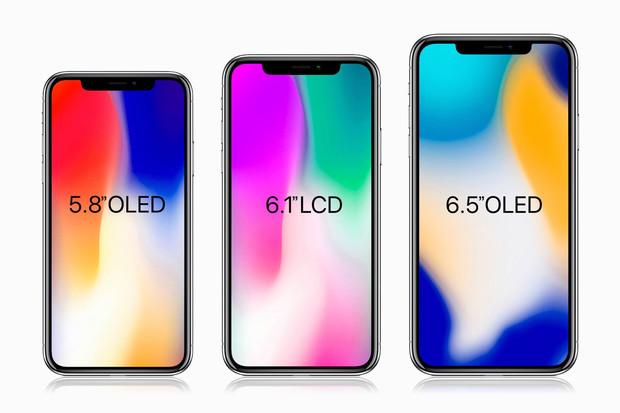 iPhony budou spoléhat příští rok už jen na OLED displeje