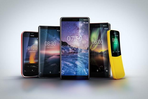 Android P pro všechny Nokie, oznámilo HMD Global
