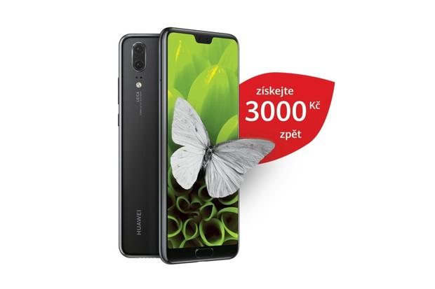 Cashback má i Huawei. Výrobce vám po nákupu P20 vrátí 3 tisíce