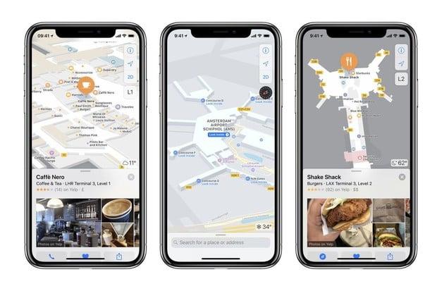Posíláme konkrétní polohu z aplikace Mapy
