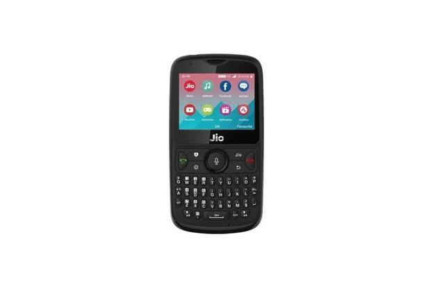 JioPhone 2 nabízí QWERTY klávesnici a systém KaiOS jako Nokia 8110