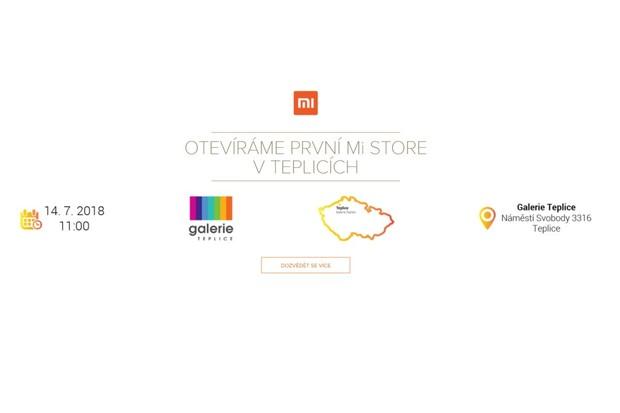 Další Mi Store se otevře v Teplicích. Xiaomi přihodí ještě více slev