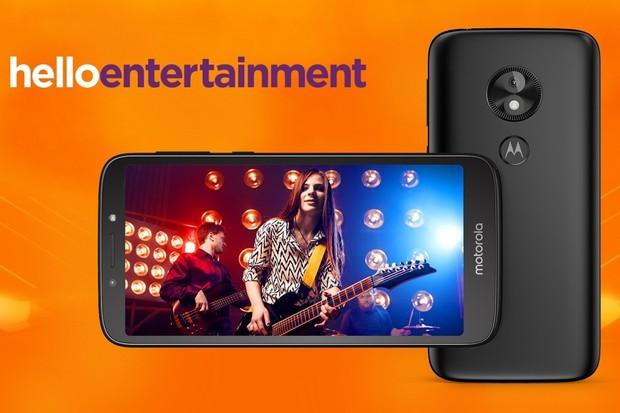 Motorola Moto E5 Play s Androidem Go je absolutním základem výrobce