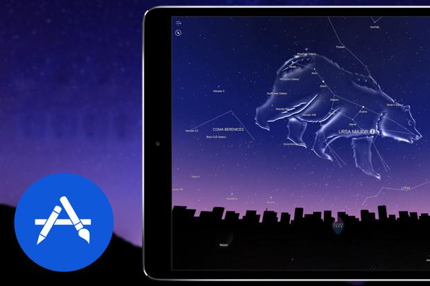 Díky aplikaci Night Sky poznáte celý blízký vesmír