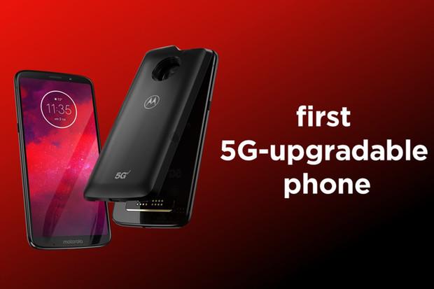 Zapovězená Motorola Moto Z3 obdržela  nejnovější Android a s ním podporu 5G sítí