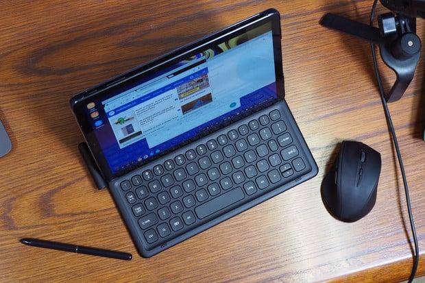 První pohled na pracovní tablet Samsung Galaxy Tab S4