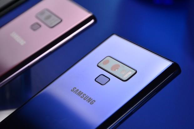 Tohle je Samsung Galaxy Note9. Vyzkoušeli jsme ho v New Yorku