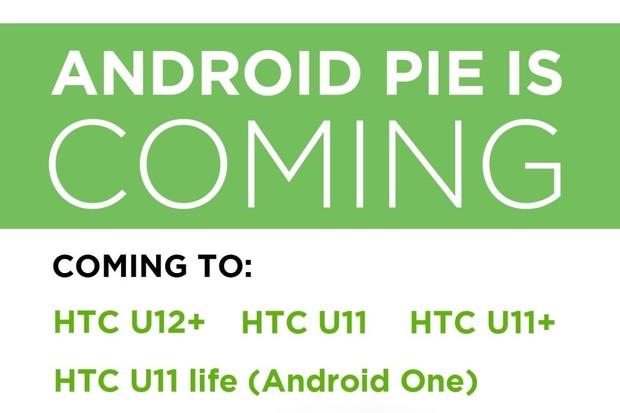HTC drží tradici. Potvrzuje Android 9.0 Pie pro U12+ a řadu U11