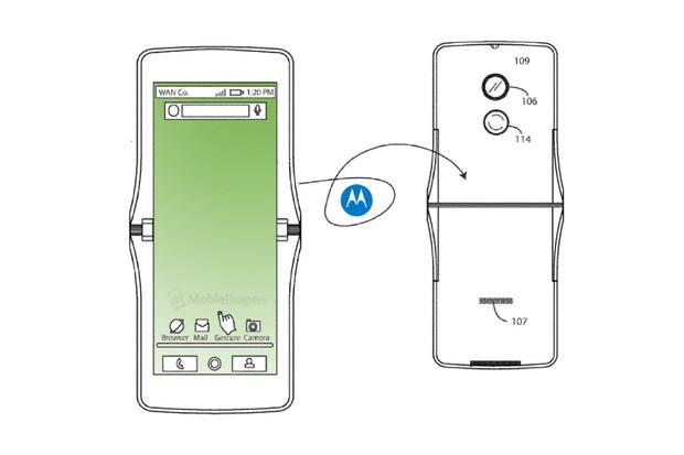 Podívejte se, jak by mohla vypadat Motorola RAZR s ohebným displejem