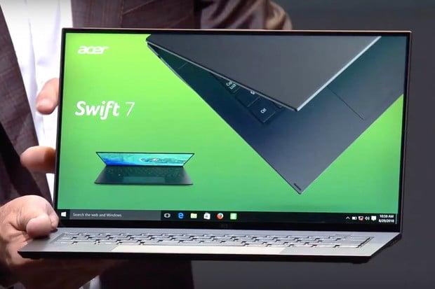 Acer vylepší nejtenčí notebook na světě. Nový Swift 7 bude ještě kompaktnější