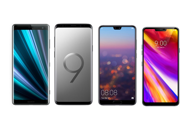 Xperia XZ3 vs. Galaxy S9+, Huawei P20 Pro a LG G7 ThinQ