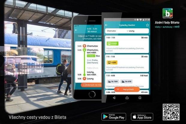 Bileto má novou aplikaci pro Android a iOS