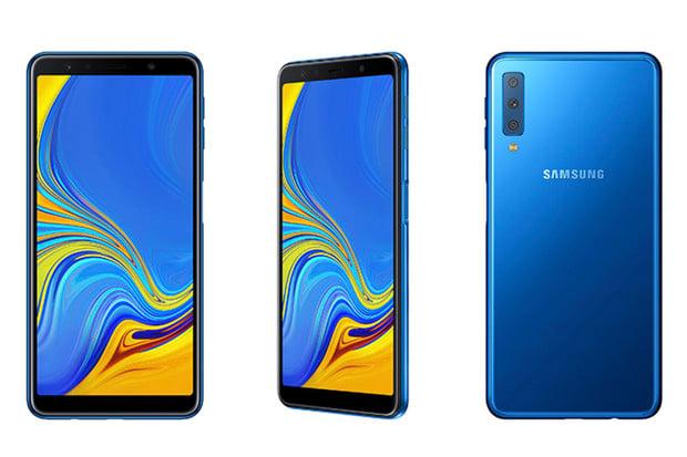 Samsung Galaxy A7 překvapí trojicí fotoaparátů na zadní straně i cenou