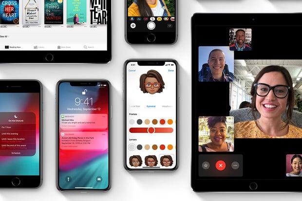 iOS 12 se aktuálně nachází na 70 % mobilních zařízení od Applu