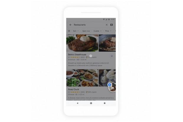 Kam na večeři? S plánováním vám nově pomohou Google Mapy