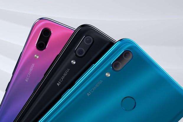 Huawei Y9 (2019): obr s velkou pamětí a čtyřmi fotoaparáty představen
