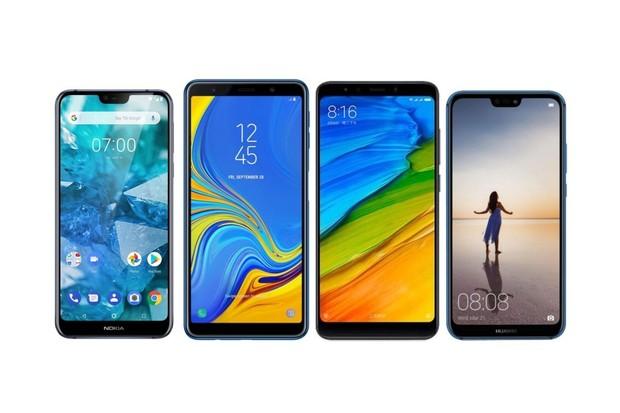 Nová Nokia 7.1 vs. Samsung Galaxy A7, Xiaomi Mi A2 a Huawei P20 Lite