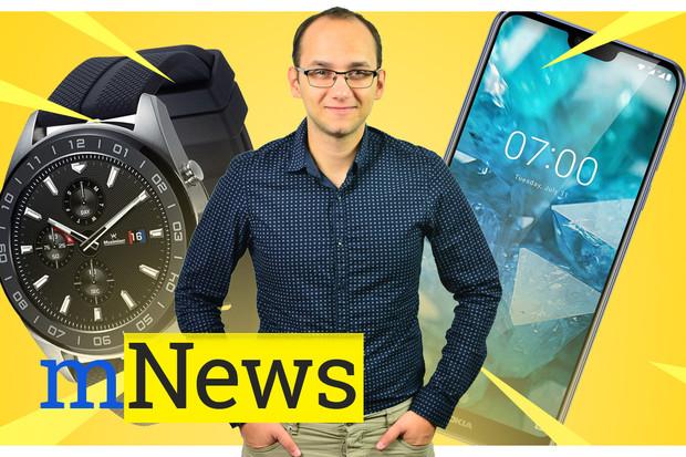 Telefon od Nokie, inovativní hodinky LG a další zprávy týdne