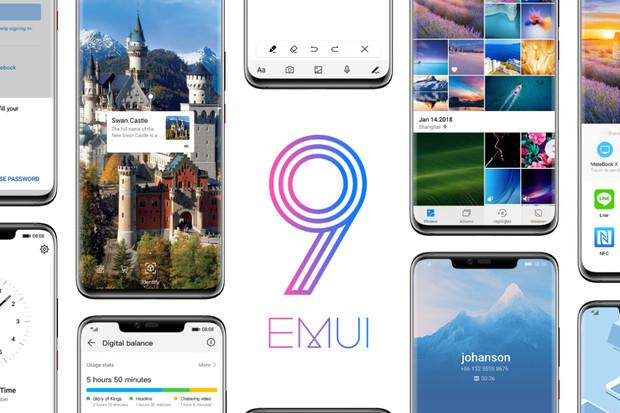 Huawei vydá EMUI 9.0 s Androidem Pie pro 9 telefonů, a to už během listopadu