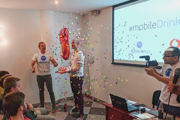 Výročí #mobileDrinku jsme oslavili s vámi v Olomouci. Podívejte se