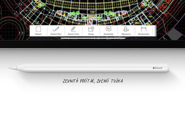 Nový Apple Pencil si dobijete pouze z iPadu. Bezdrátové nabíjení Qi nepodporuje