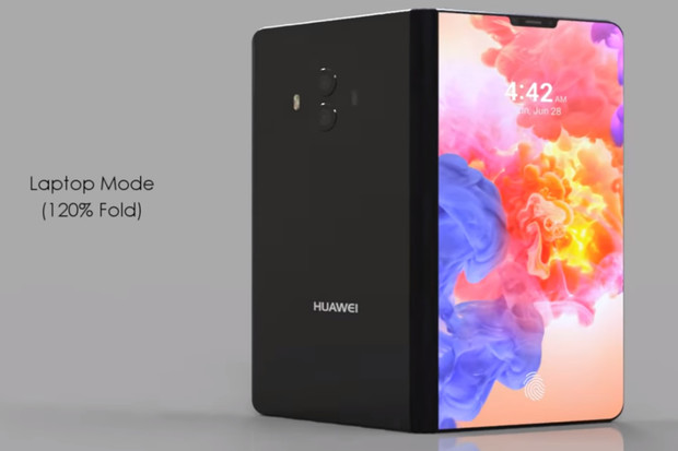 Ohebný Huawei Mate X se odhaluje na videu, které by vám nemělo uniknout