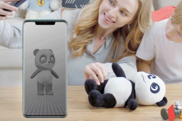 Aplikace 3D Moderator pro Huawei Mate 20 Pro vdechne život plyšovým společníkům